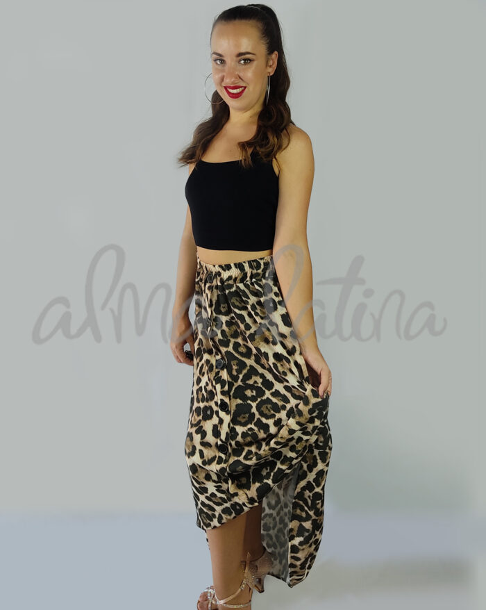 falda-larga-animal-print