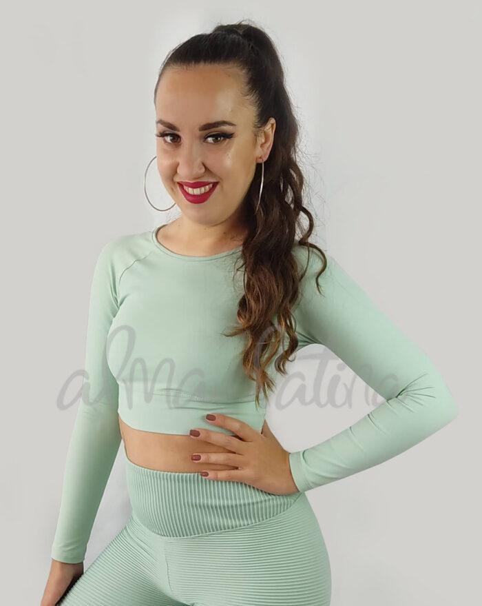 top-de-manga-larga-verde-agua-ropa-de-baile-y-deportiva