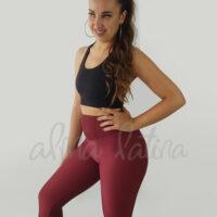 leggings-canalé-burdeos-ropa-de-baile-y-deportiva